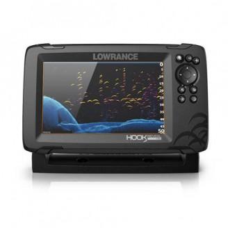 Картплоттер Lowrance Hook Reveal 7 SplitShot 83/200 (000-15512-001)