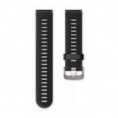 Ремешок сменный Garmin Forerunner 935, 945 силикон, черный (010-11251-0Q)