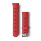 Ремешок сменный Garmin Forerunner 45 силикон, красный (010-11251-1Z)
