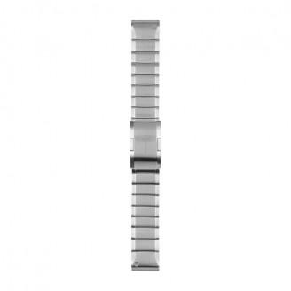 Браслет сменный Garmin QuickFit 22 металл, серебристый (010-12496-20)