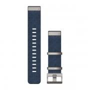 Ремешок сменный Garmin QuickFit 22 Нейлон, Жаккардовое плетение, Индиго OEM (010-12738-02)