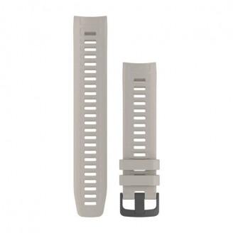 Ремешок сменный Garmin INSTINCT силикон, бежевый (Tundra) OEM (010-12854-01)