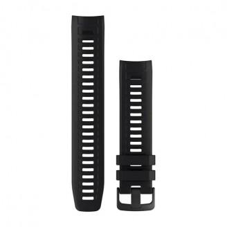 Ремешок сменный Garmin INSTINCT силикон, черный (Black) OEM (010-12854-18)
