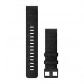 Ремешок сменный Garmin QuickFit 22 нейлоновый, черно-серый с черной пряжкой OEM (010-12863-07)