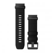 Ремешок сменный Garmin QuickFit 26 Tactical Black Nylon, черный с черной пряжкой OEM (010-13010-00)