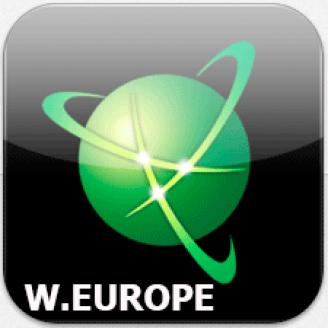 Карта для Навител - Западная Европа 2019 Q2