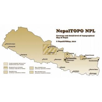 Непал Топографическая карта Garmin 2015