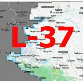 Квадрат L-37 1:25000 (250-метровки)