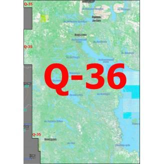 Квадрат Q-36 Масштаб 1:50000 (500-метровки)