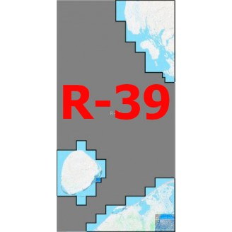 Квадрат R-39 Масштаб 1:50000 (500-метровки)