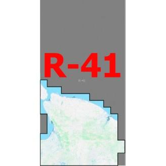 Квадрат R-41 Масштаб 1:50000 (500-метровки)