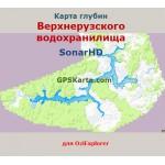 Верхнерузское водохранилище SonarHD