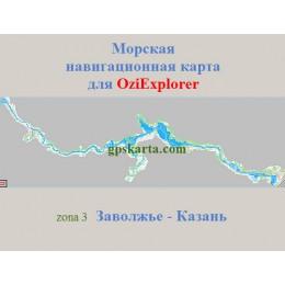 Волга. Заволжье-Казань