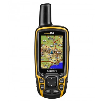 "Garmin GPSMAP 64 + карта ""Дороги России. РФ. ТОПО"""