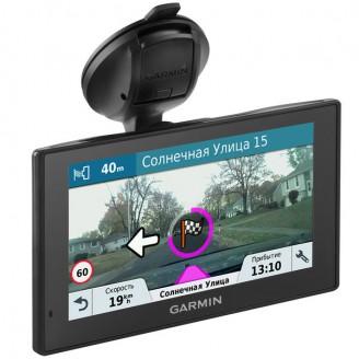 Garmin DriveAssist 51 RUS LMT автомобильный навигатор с видеорегистратором