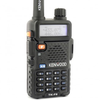 Портативная Рация KENWOOD TK-F8 MAX 8 Вт UHV 390 - 480 МГц