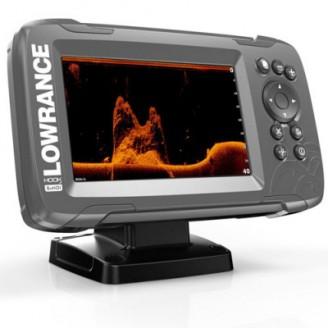 Эхолот/картплоттер Lowrance HOOK2-5 SplitShot GPS с поддержкой картографии
