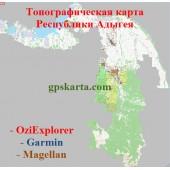 Адыгея Республика Топо для Туристических GARMIN (JNX)