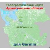 Архангельская область для Туристических GARMIN (JNX)