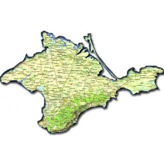 Республика Крым топографическая карта для смартфонов, планшетов и навигаторов (OziExplorer)