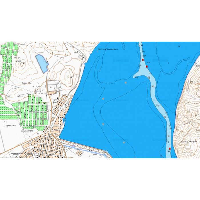 Рыболовные карты хакасии