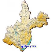 Иркутская область Топографическая Карта для Garmin (JNX)