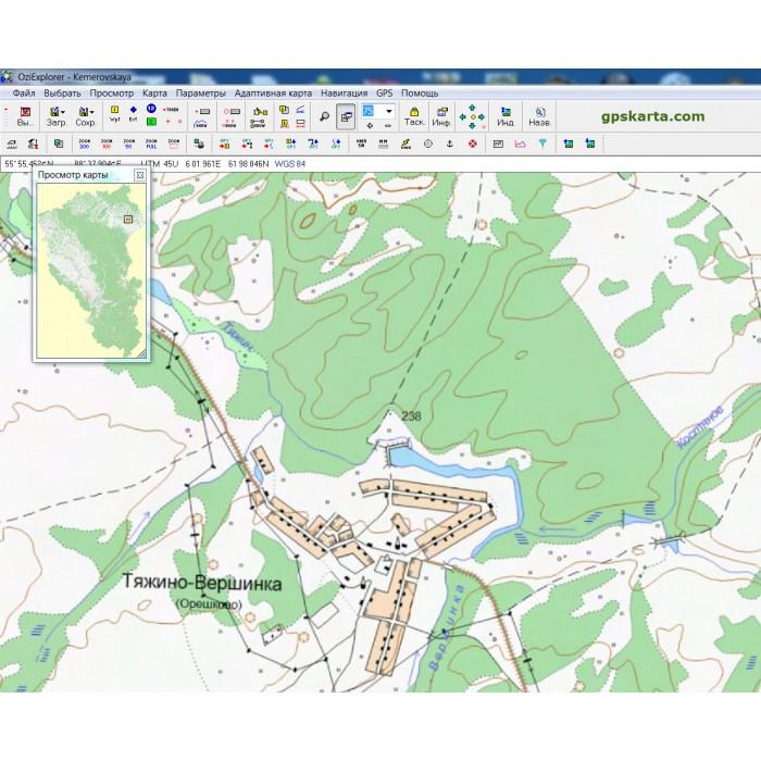 Карты навител кемеровской области