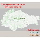 Курская Область Топографическая Карта для Garmin (JNX)