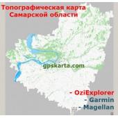 Самарская Область Топографическая Карта для Garmin (JNX)