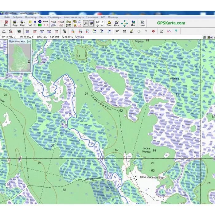 Карта свердловской области для garmin скачать