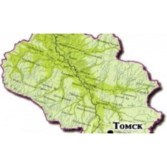 Томская область топографическая карта для смартфонов, планшетов и навигаторов (OziExplorer)