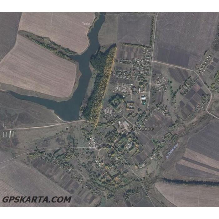 Как спутниковую карту yandex
