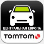 TomTom Центральная Европа 1005