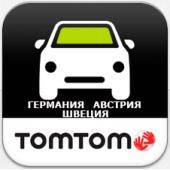 TomTom Германия, Австрия, Швецария 950