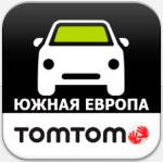 TomTom Южная Европа 950