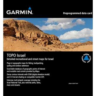 Карта для Garmin - Израиль TOPO Israel V2.01