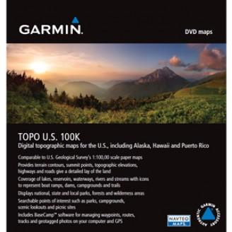 Карта для Garmin - США TOPO U.S. 100K v.6