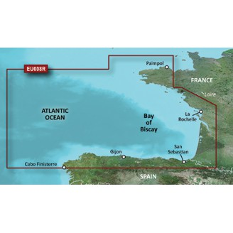 Бискайский залив VEU008R BlueChart G2 Vision