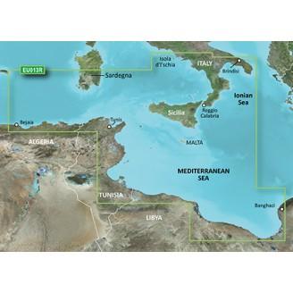 VEU013R Средиземное море, Италия ЮЗ, Африка, Тунис, Алжир, Ливия 2014.0 (15.50)