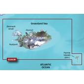 Исландия, Фарерские острова 2014 (15.50) VEU043R BlueChart G2 Vision
