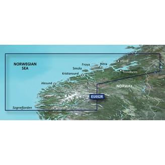 VEU052R Норвежское море, Побережье Норвегии от Согне-фьорд до Офьорд