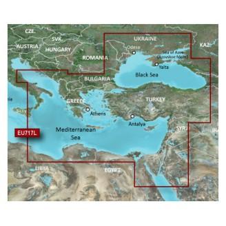 VEU717L Средиземное море восточная часть, Чёрное море 2014.0 (15.50)