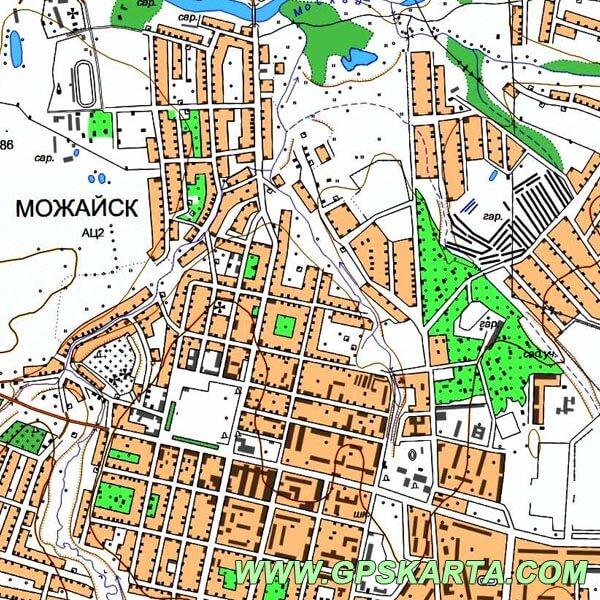 топография московская garmin