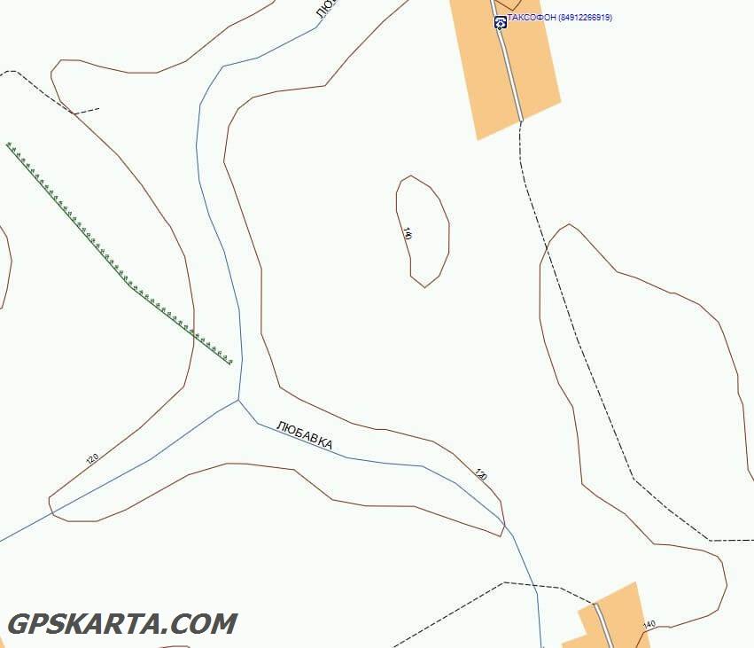 спутниковая карта Рязанская область