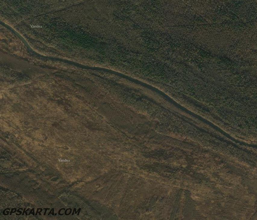 спутниковая карта Смоленская область