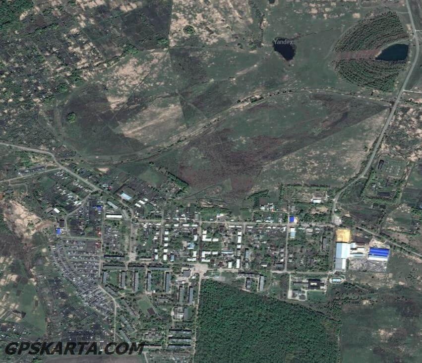 тульская область спутниковая карта