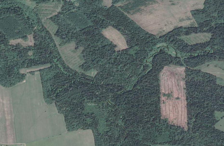 спутниковая карта Тверская Область